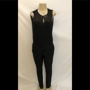 Zara basic black jumpsuit size 5